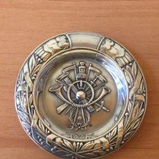 Antigüedades: CENICERO PLATA DE LEY. Lote 104556308