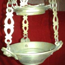 Antigüedades: LAMPARITA VOTIVA METAL. Lote 104558731