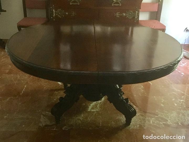 mesa comedor redonda extensible - Kaufen Antike Tische in ...