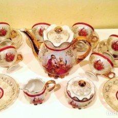Antigüedades - Juego de café en porcelana japonesa Japón Año 1930 - 104623307