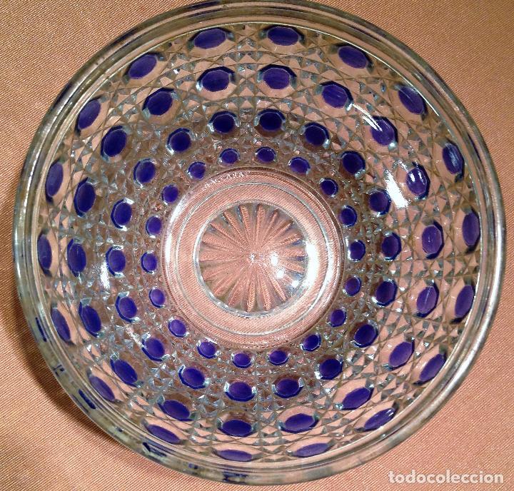 Antigüedades: Cuatro piezas de tocador de Baccarat - Foto 3 - 104649843