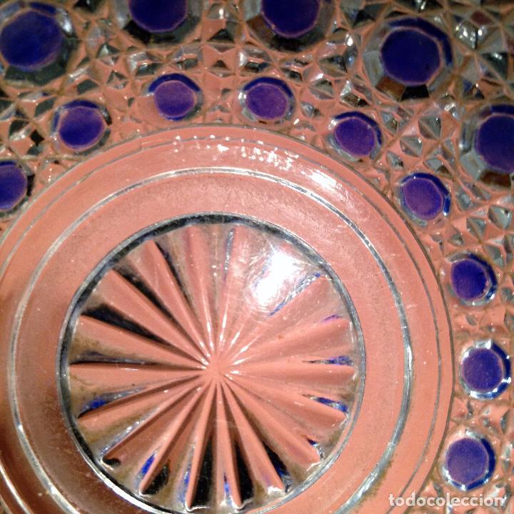 Antigüedades: Cuatro piezas de tocador de Baccarat - Foto 4 - 104649843