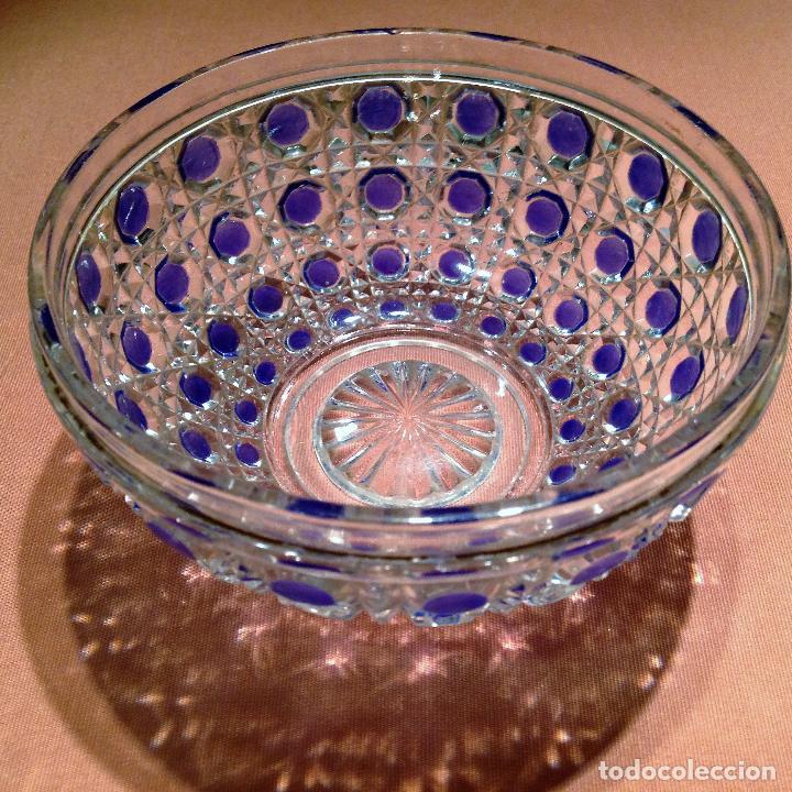 Antigüedades: Cuatro piezas de tocador de Baccarat - Foto 6 - 104649843