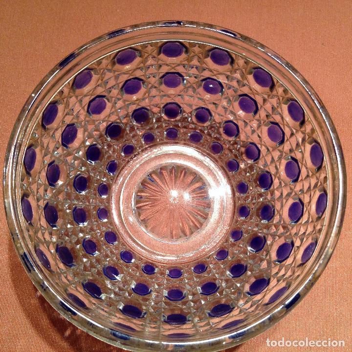 Antigüedades: Cuatro piezas de tocador de Baccarat - Foto 8 - 104649843