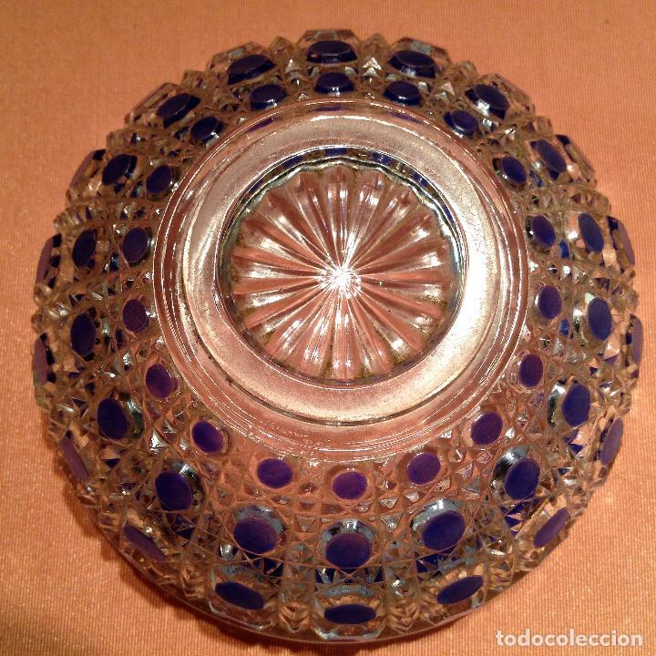 Antigüedades: Cuatro piezas de tocador de Baccarat - Foto 9 - 104649843