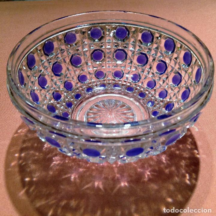 Antigüedades: Cuatro piezas de tocador de Baccarat - Foto 11 - 104649843