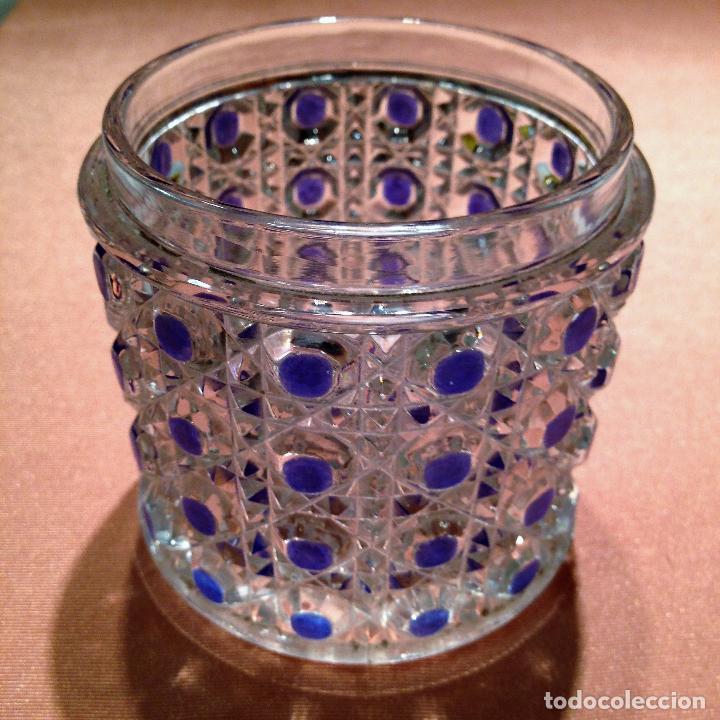 Antigüedades: Cuatro piezas de tocador de Baccarat - Foto 19 - 104649843
