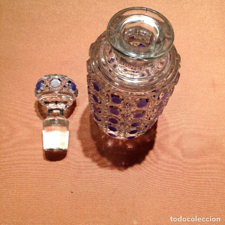 Antigüedades: Cuatro piezas de tocador de Baccarat - Foto 20 - 104649843