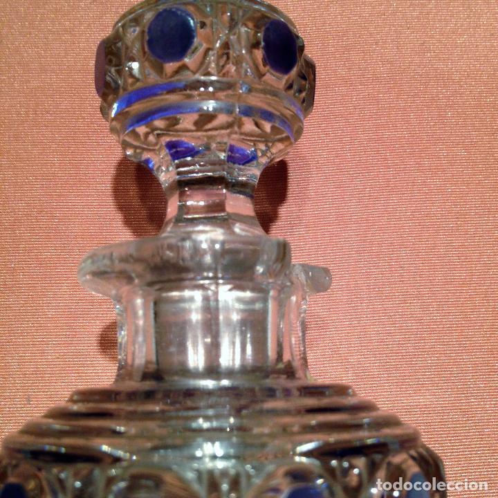 Antigüedades: Cuatro piezas de tocador de Baccarat - Foto 26 - 104649843