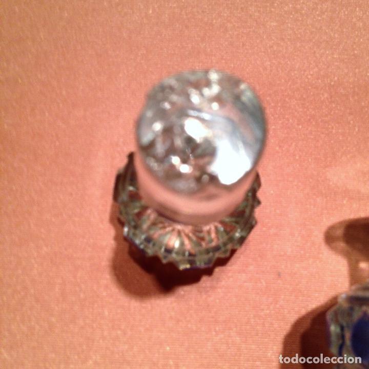 Antigüedades: Cuatro piezas de tocador de Baccarat - Foto 28 - 104649843