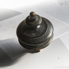 Antigüedades: COPA, BORLA, PARA CAMA O ARMARIOS, BORLA ISABELINAS. S.XIX. Lote 104674103