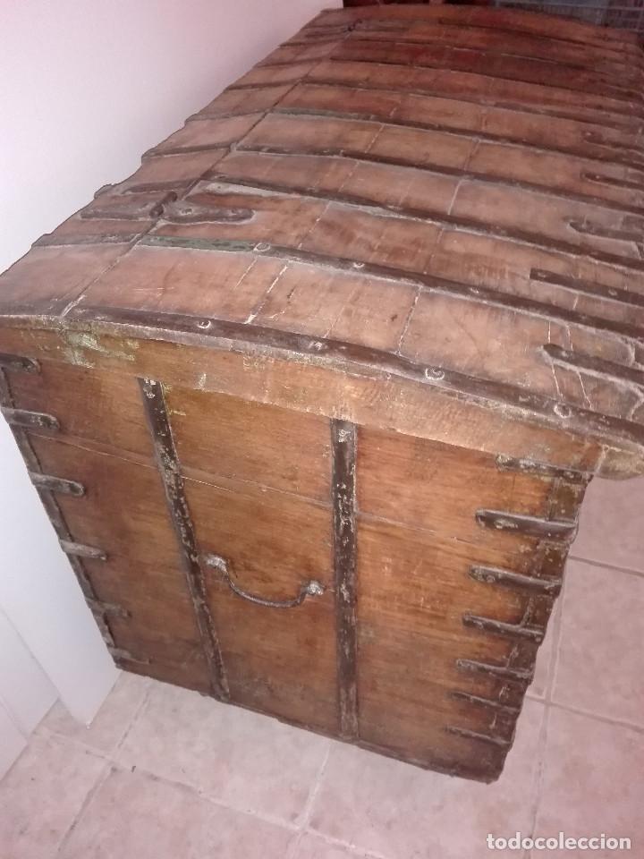 Antigüedades: ARCON INDIO PARA CEREALES, SIGLO XVIII - Foto 3 - 104680619