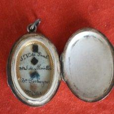 Antiquités: RELICARIO SANTOS VICENCIANOS. Lote 104688356