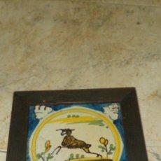 Antigüedades: AZULEJO OLAMBRILLA DE TRIANA SEVILLA DEL SIGLO XVIII. Lote 104710031