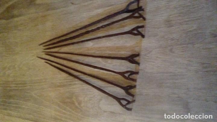 Antigüedades: Juego de hierros para marcar ovejas - Foto 3 - 104716587