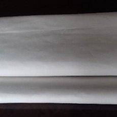 Antigüedades: ANTIGUO CORTE DE TELA PARA FUNDA DE ALMOHADA, DE FINO Y BUEN ALGODON. 3 METROS 48 CENTIMETROS.X 98 . Lote 104735711