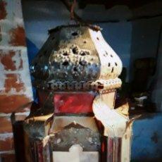 Antigüedades: LAMPARA ANTIGUA ÁRABE.. Lote 104738271