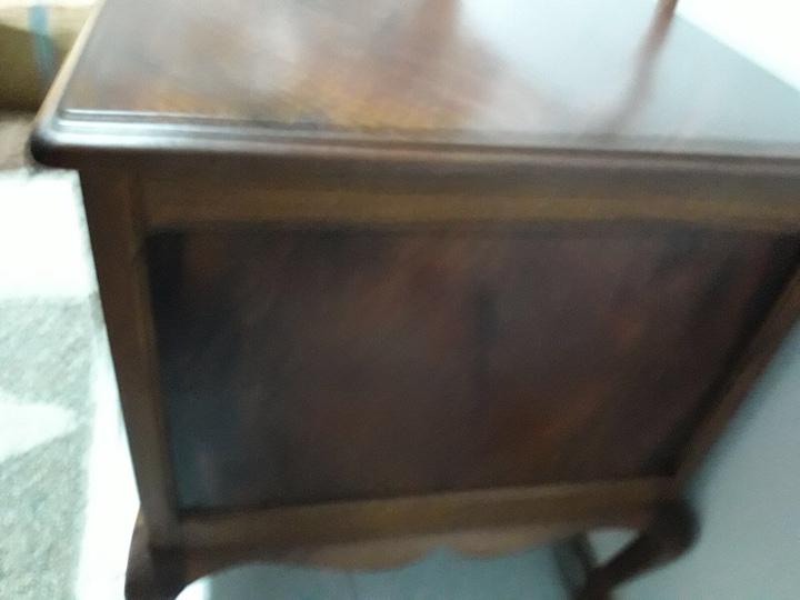 Antigüedades: Mesa de despacho en madera nogal - Foto 9 - 63682411