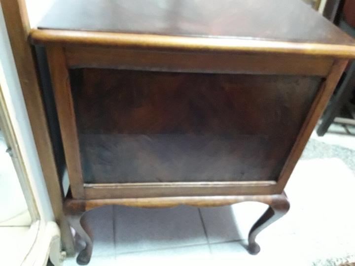 Antigüedades: Mesa de despacho en madera nogal - Foto 13 - 63682411