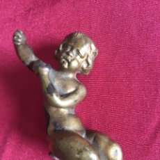Antigüedades: PRECIOSA PIEZA EN BRONCE SIGLO XVIII. Lote 104779423