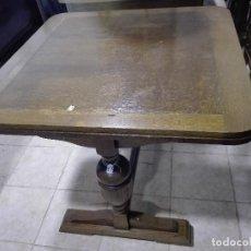 Antigüedades: MESA DE COMEDOR EN ROBLE, CERCA DE 1.920. Lote 104780103