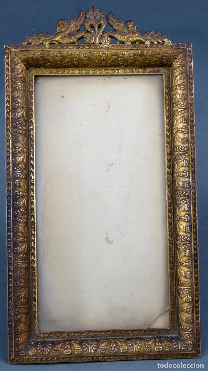 marco imperio en bronce dorado decoracion veget - Comprar Marcos ...