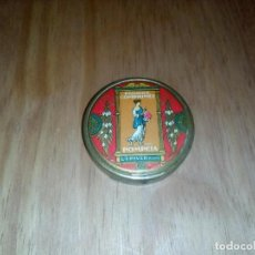 Antigüedades: POLVORERA FRANCESA ESMALTADA ANTIGUA. Lote 104797471