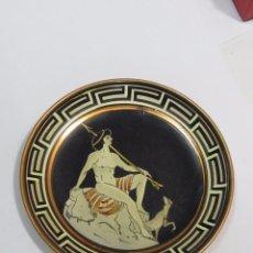 Antigüedades: ANTIGUO PLATO DE COBRE HECHO EN GRECIA. Lote 104803959