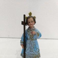 Antigüedades: ESCULTURA NIÑO JESÚS DEL REMEDIO 20 CM. Lote 104804963
