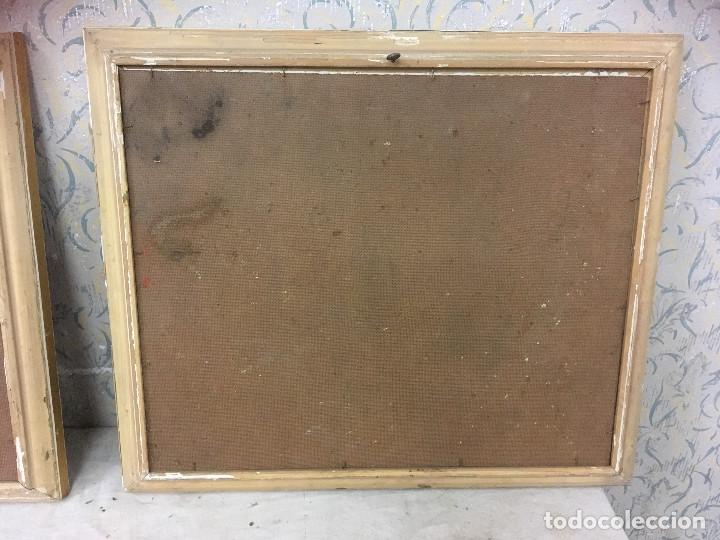 cuadros antiguos para restaurar. marcos madera - Comprar en ...