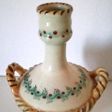 Antigüedades: GARRAFÓN CERÁMICA TALAVERA MC P. A R Y LO QUE PARECE UNA Z . Lote 104812207