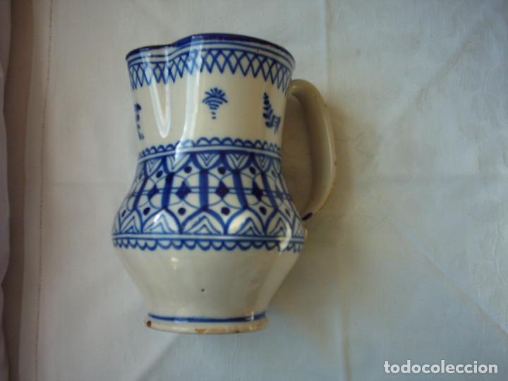 ANTIGUA JARRA DE CERÁMICA DE MANISES. SIGLO XIX. 20 X 15 CM. (Antigüedades - Porcelanas y Cerámicas - Manises)