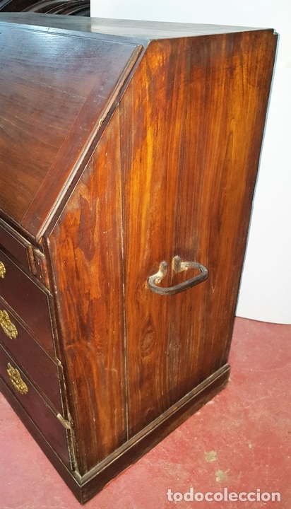 Antigüedades: CANTERANO ESCRITORIO. MADERA DE MORERA. BARROCO ESPAÑOL. SIGLO XVIII. - Foto 13 - 104835819