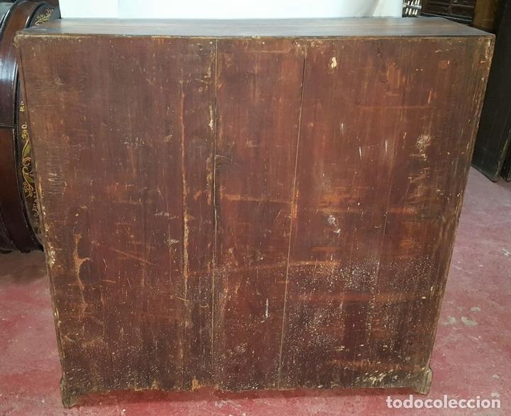 Antigüedades: CANTERANO ESCRITORIO. MADERA DE MORERA. BARROCO ESPAÑOL. SIGLO XVIII. - Foto 15 - 104835819