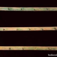 Antigüedades - espetera, madera para colar cacharros en cocinas, collares,,,,,restaurada, - 104850371