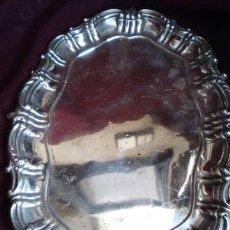 Antigüedades: BANDEJA DE PLATA. Lote 104853243