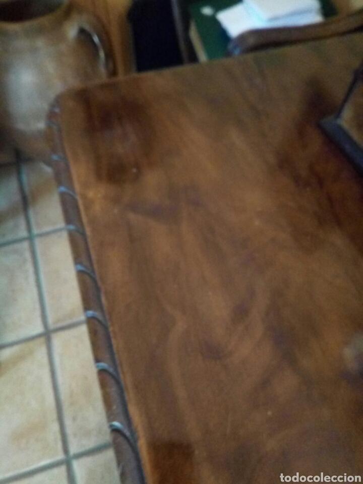 Antigüedades: Mesa de despacho con sillon, siglo XIX - Foto 3 - 104858359