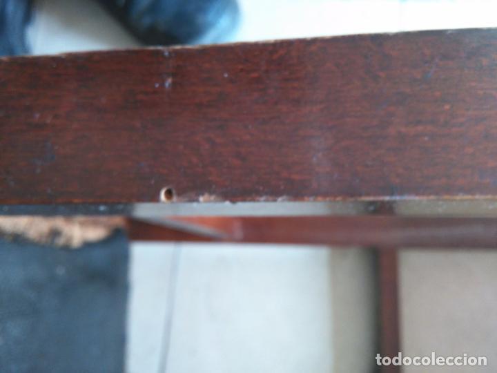 Antigüedades: 4 SILLAS ANTIGUAS TABURETES BANQUETAS TABURETAS DE NEA O ENEA PARA RESTAURAR 44 CM ALTURAL - LEER - Foto 15 - 104863463