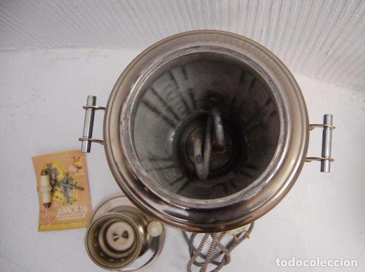 Antigüedades: SAMOVAR ELÉCTRICO - Foto 6 - 104889231