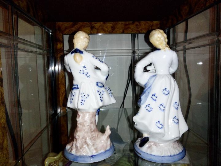 Antigüedades: Pareja porcelana - Foto 2 - 104952591