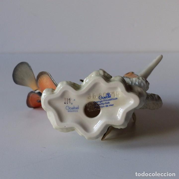Antigüedades: Figura de porcelana Göbel. Pez. Alemania 1960 - 1970 - Foto 7 - 104958731