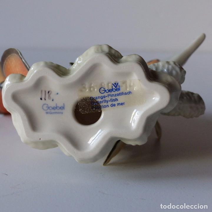 Antigüedades: Figura de porcelana Göbel. Pez. Alemania 1960 - 1970 - Foto 8 - 104958731