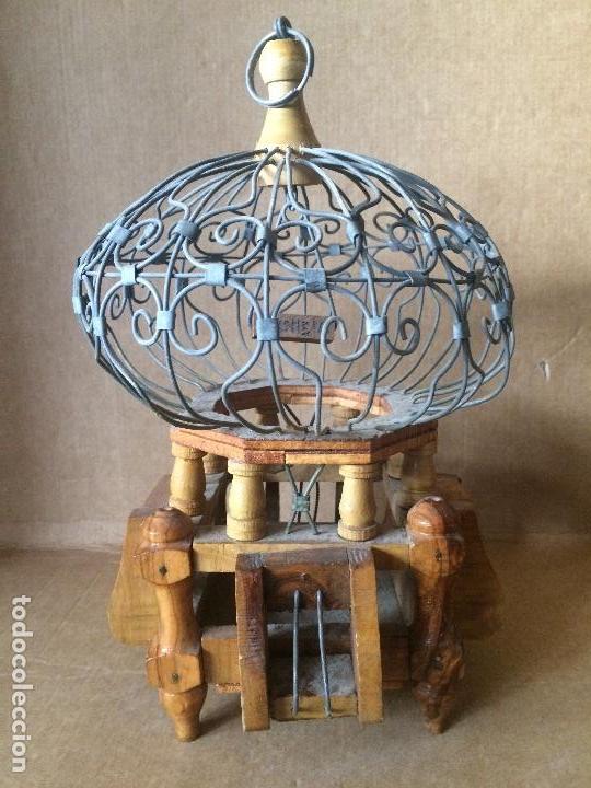 antigua jaula decoracin Comprar Antigedades Varias en