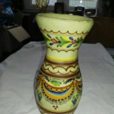 Antigüedades: JARRON ANTIGUO FIRMADO VELAZQUEZ PUENTE ARZOBISPO. Lote 105029982