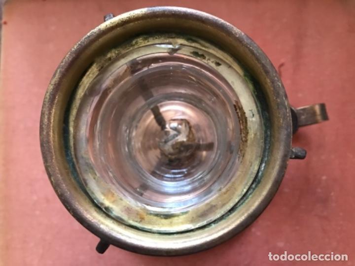 Antigüedades: Antigua palmatoria o lamparilla religiosa - Foto 3 - 105031131