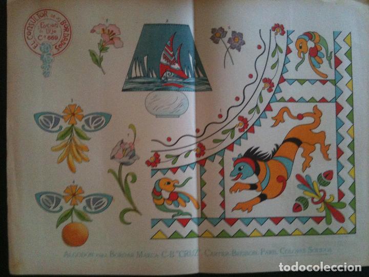 EL CONSULTOR DE LOS BORDADOS EDICION LUJO -Cº669 (Antigüedades - Moda - Bordados)