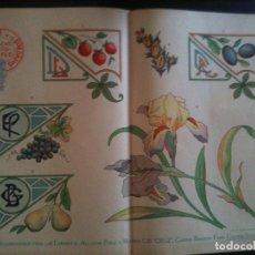 Antigüedades: EL CONSULTOR DE LOS BORDADOS EDICION LUJO -Cº743. Lote 105097919