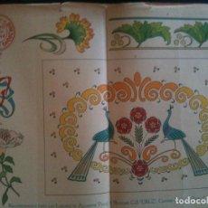 Antigüedades: EL CONSULTOR DE LOS BORDADOS EDICION LUJO -Cº747. Lote 105097975