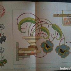 Antigüedades: EL CONSULTOR DE LOS BORDADOS EDICION LUJO -Cº681. Lote 105098247