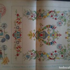 Antigüedades: EL CONSULTOR DE LOS BORDADOS EDICION LUJO -Cº685. Lote 105098291